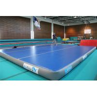 Quality 12*12m Inflatable Stunt Crash Mat , Gymnastics Practice Mat For Sports for sale