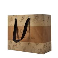 Quality Carrying Personalized Paper Bags Convenient Eco - Friendly Direct Design for sale
