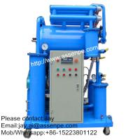 Quality High vacuum Insulating Oil Cleaning System,Oil Purifier machine for sale
