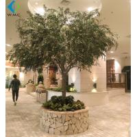 Christmas Artificial Weeping Willow For Landscape Decoration Fiberglass Material for sale