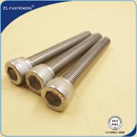 Quality Natural Color Stainless Steel Bolts / Allen bolt DIN912 for sale