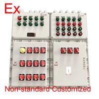 Customized IP65 Explosion Proof Panel , 220V / 380V Electrical Control Box