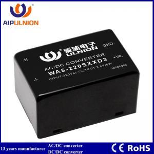 China 5W AC-DC Isolated Power Supply Module 110V/220v to 5V/9V/12V/15V/24V on sale