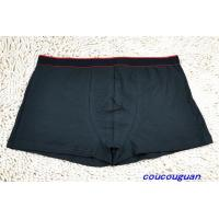 Buy cheap Peraonalized Athletic Cotton Blue Knitted Plus Size Mens Underwear Boxers product