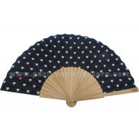 Quality Lovely Design Printing  Wooden Hand Fan Party Favorite For Gifts And Other Events for sale