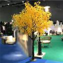 Wind Resistant Artificial Ginkgo Tree Garden Landscape Decoration / fake for sale