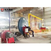 Quality Durable 10Tph Horizontal Fire Tube Boiler Lpg Fired Boiler Operate Automatically for sale