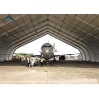 Quality High Strength Rustproof Air Plane Hanger With Steel Space Truss Structure for sale
