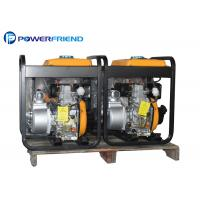China Electric Diesel Water Pump Generator 4 Inch 192F Engine Rated Head 16M on sale