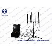 Quality 100W Output Drone Signal Jammer , Portable Cell Phone Signal Jamming Device  for sale