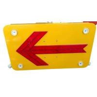 Quality Dynamic Light Emitting Gradient Light LED Arrow Board For Diversion for sale