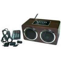 Quality sd card wooden speaker for sale