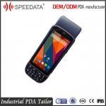 Quality Portable Handheld RFID Reader Barcode Scanner / Card Reader / Printer / Fingerprint for sale