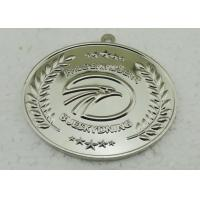 Quality Customized Medallion For Running Competition Event , Baseball Medals With Heat Transfer Lanyard for sale