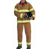 Quality Nomex Light Weight Two Big Patch Pocket Fireman Turnout Gear Adjustable Braces for sale