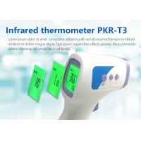 Quality High Precision Electronic Infrared Handheld Forehead Thermometer for sale