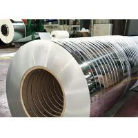 Quality 201 Stainless Steel Cold Rolled Steel Sheet In Coil , 10 - 650mm Width Coil Steel for sale