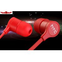 China 100% Orginal HTC ONE Earphone 3.5MM Connector Jack Built In MIC Super Bass Multi Color on sale