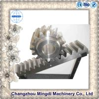 Quality 5-7 Class Precision Grade Rack And Pinion Gears With 1-12m Module for sale