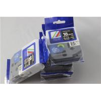 Quality Compatible Ptouch 18mm tz-345 laminated label tape for sale