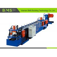 China Customize Size Change Cold Rolled Sheet C Purlin Forming Machine With Hydraulic Uncoiler on sale
