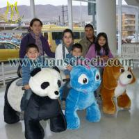 Buy Hansel shopping mall walking ride on animal toy walking animal rides for sale at wholesale prices