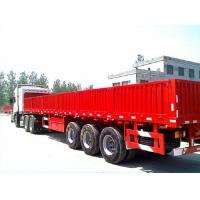 Quality Air Mechanical suspension and leaf spring suspension 13m cargo trailer made in China for sale