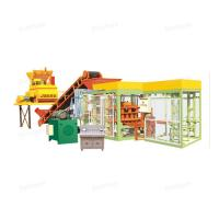 Buy QTJ4 -15 Hydraulic Automatic Cement Brick Making Machine With Long Life at wholesale prices