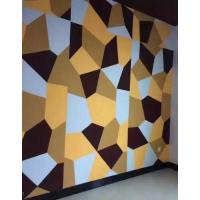 China Sound Absorbing Acoustic Wall Panels Hard Interior Soundproof Polyester Fiber Board on sale