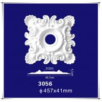 """Quality Hot Selling Products Architectural Interior Decoration 18"""" PU Square Ceiling Medallion for sale"""