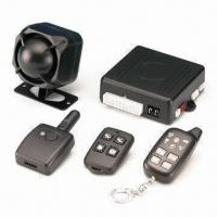 Quality Two Way LED Car Alarm System with Two LED Remote Controls for sale