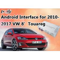 "Quality Reverse Camera Android Auto Interface Navigation Box Made for VW Touareg 8"" RNS850 System for sale"