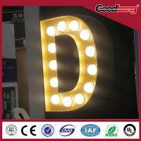 China Custom advertising wall led neon light sign on sale