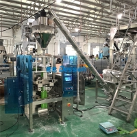 China 500g 1kg Milk Powder Quad Seal Pouch Packing Machine on sale