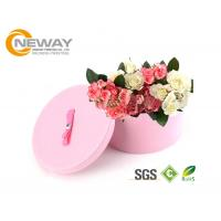 Quality Flower Gift Box Round Colorful Luxury Flower Custom Printed Cardboard Boxes for Gift Packing for sale