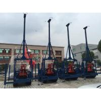 Quality Small Diamond Drill Rig Crawler Mounted 100 Meters Seperated Water Pump for sale