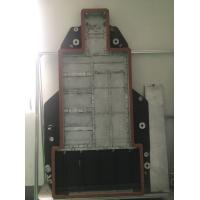 Quality Brazed Aluminum cold plate for Electronic Bus Cooling solution for sale