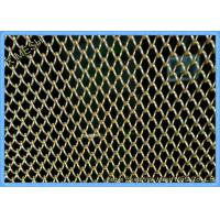 China Decorative Expanded Metal Mesh , Stainless Steel Woven Wire Mesh Screen In Rolls on sale