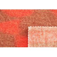 Quality Soft Textile Fashion Designer Wool Weave Faux Fur Fabric Yarn - Dyed Craft for sale