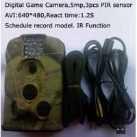 Quality Outdoor Night Vision  Motion Activated Camera for sale