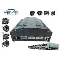 Buy cheap 3G 4G 4ch / 8ch full hd 1080p AHD MDVR and Camera / Audio System police car solution product