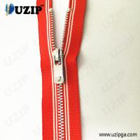 China #3 fancy striped tape children's clothes zip with custom zipper pulls on sale