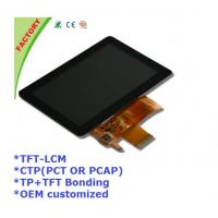 "Buy cheap 5"" Touch screen panel and LCM and optical bonding for Industrial control device product"