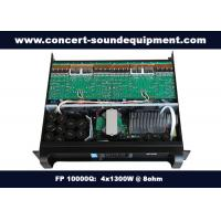 China 4 Channel Church Sound Systems Class TD 4x1300W Switching Amplifier on sale