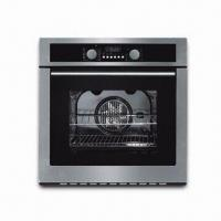 Quality Stainless Steel Fascia Panel Oven Toaster with Decor Glass and Integral Cooling Fan for sale