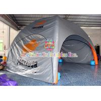 Buy cheap 0.6mm PVC Inflatable Shelter Tent With Air - Welded PVC Tarpaulin product