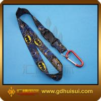 Quality black heated transfer lanyard for sale