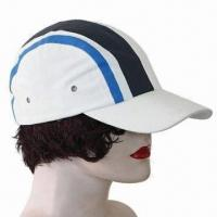 Quality Micro Sports Cap, Made of 100% Cotton Twill, Six Panels for Promotions for sale