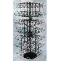 Buy Hanging Clip Rack w/Basket for Cross Merchandising at wholesale prices