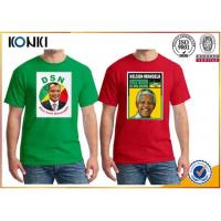 Quality OEM Election Campaign Custom T Shirt 100% Cotton For Election Advertising for sale